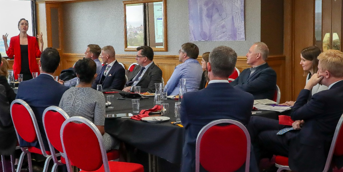Round table event at the launch of the National Underground Asset Register pilots