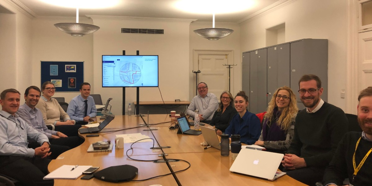 NUAR Project Team at Geospatial Commission